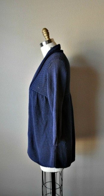 Vince Knit 3/4 Sleeves Cotton Acrylic Cardigan