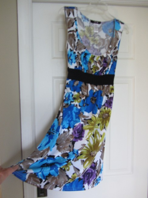 Other short dress Blue Pattern And Color Combination So Unusual Yet So Great on Tradesy