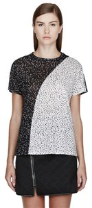 Proenza Schouler T Shirt Black and White