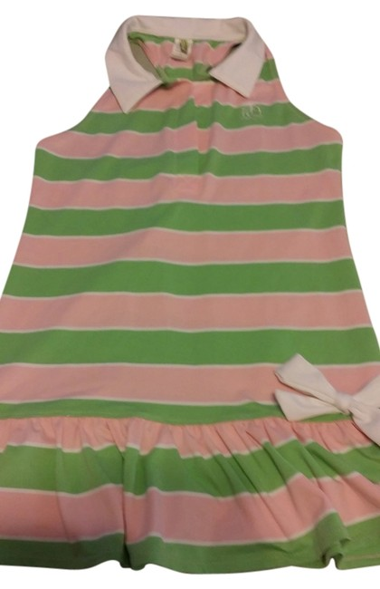 Juicy Couture short dress Green and pink on Tradesy