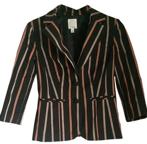 Halogen Stripes Staple black, red, champagne, light yellow Blazer