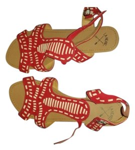 Other Red/white Sandals