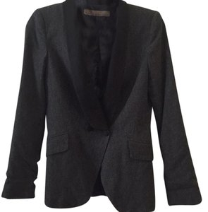 Zara Black, grey Blazer
