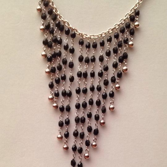 Other Sterling Silver .925 & Black Necklace