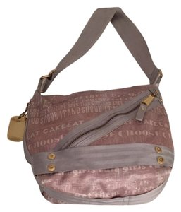 Juicy Couture Messenger Clearence Sale Lilac And silver Messenger Bag