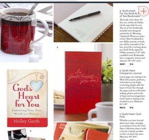Blessings unlimited Gods heart for you Collection by Holley gerth
