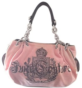 Juicy Couture Sale Satchel in Pink And brown
