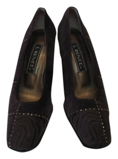 Preload https://item5.tradesy.com/images/j-renee-brown-very-good-condition-suede-leather-m-pumps-size-us-8-regular-m-b-5149924-0-0.jpg?width=440&height=440