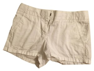 J.Crew Chino Comfortable Summer Mini/Short Shorts White