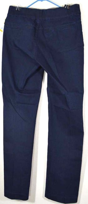 Lee Natural Fit Barely Pull-on Stretch Medium Boot Cut Jeans-Dark Rinse