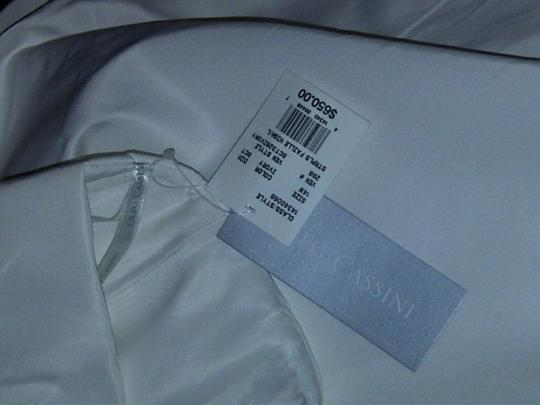 Oleg Cassini Ivory Other Ct-326 Destination Wedding Dress Size 12 (L)