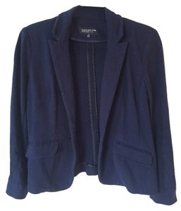 Jones New York Comfortable Stretchy Navy Blazer