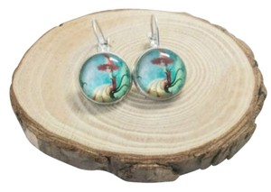 Beautiful Mermaid Dangling Earrings