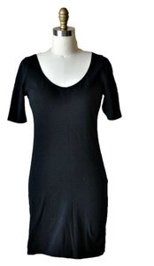 Xhilaration short dress Black Lbd Knit on Tradesy