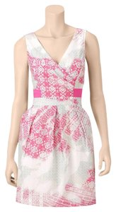 Jessica Simpson short dress pastel pink and mint on Tradesy
