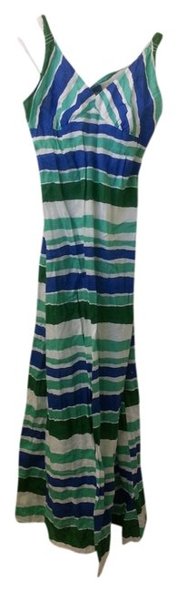GREEN, BLUE , WHITE Maxi Dress by OLD NAVY