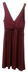 LA CLASS short dress BURGUNDY on Tradesy