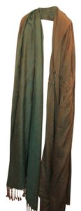 Fabindia Brand new! Cashmere green-gold scarf from India.