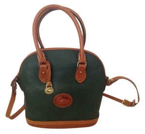Dooney & Bourke Satchel in Fir green