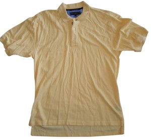 Tommy Hilfiger Tommy Hilfiger Mens Polo Shirt Size L Light Yellow