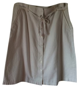 Eddie Bauer Skirt White