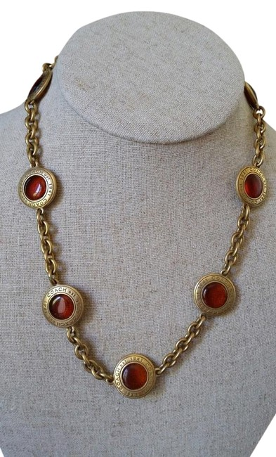 Item - Amber/Gold Necklace