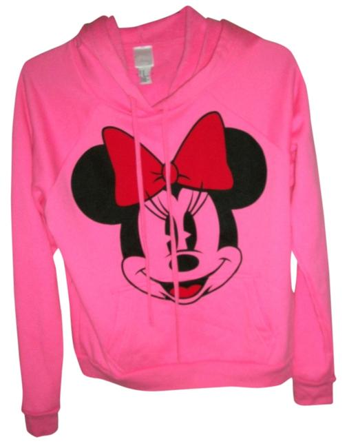 Forever 21 Minnie Mouse Pink Sweater
