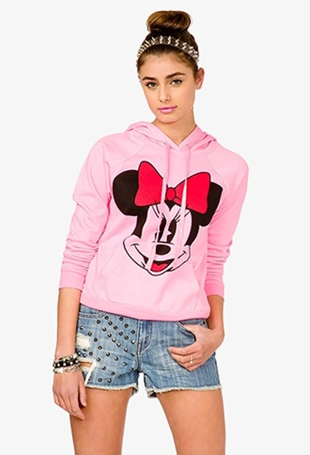 Preload https://img-static.tradesy.com/item/515173/forever-21-minnie-mouse-pink-sweaterpullover-size-8-m-0-0-650-650.jpg