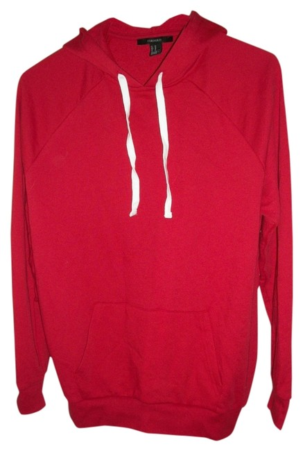 Preload https://img-static.tradesy.com/item/515177/forever-21-red-oversied-hoodie-sweaterpullover-size-10-m-0-0-650-650.jpg