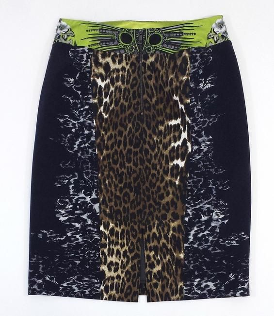 Elie Tahari Print Silk Blend Pencil Skirt