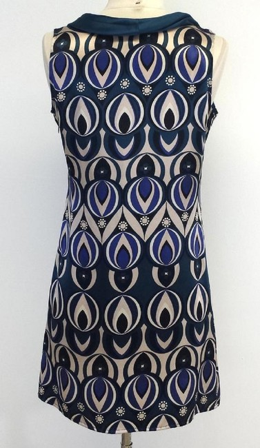 Ted Baker short dress Multi Print Silk Sleeveless Shift on Tradesy