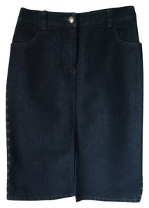 A|X Armani Exchange Skirt Dark blue