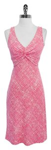 BCBGMAXAZRIA short dress Print Sleeveless on Tradesy