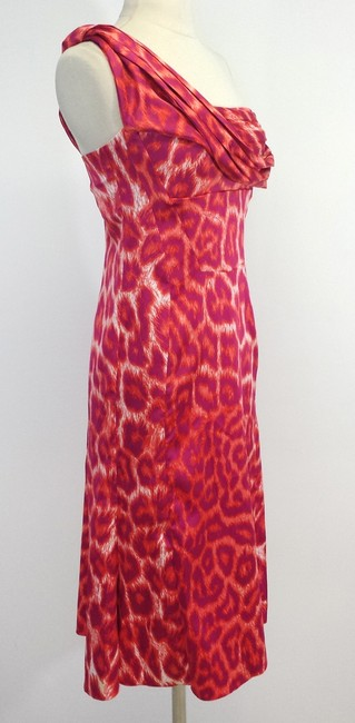 Just Cavalli short dress Leopard Print One Shoulder on Tradesy