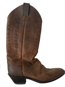 Justin Boots Leather Brown Boots