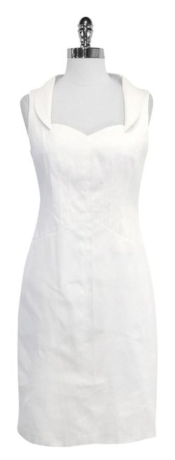 David Meister short dress Cotton Sleeveless on Tradesy