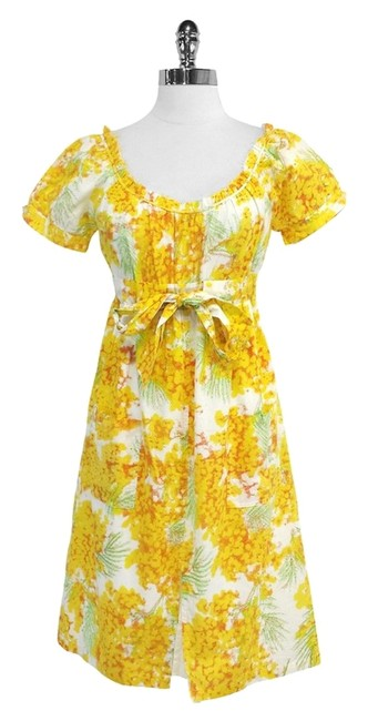 Preload https://item3.tradesy.com/images/diane-von-furstenberg-yellow-and-white-botanical-print-mid-length-short-casual-dress-size-4-s-5153317-0-0.jpg?width=400&height=650