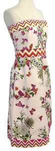 Tibi short dress Butterfly Print Cotton on Tradesy