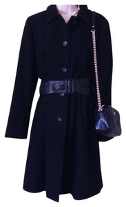 Banana Republic Wool Lady Trench Military Trench Coat