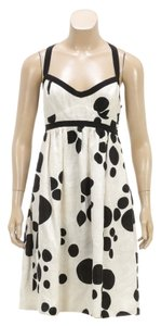 Giambattista Valli short dress Black/White on Tradesy