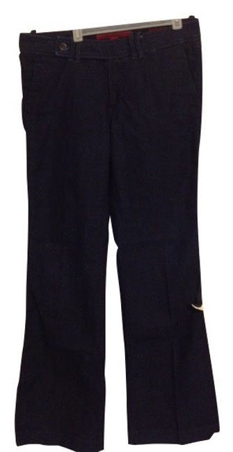 Banana Republic Trouser/Wide Leg Jeans-Dark Rinse