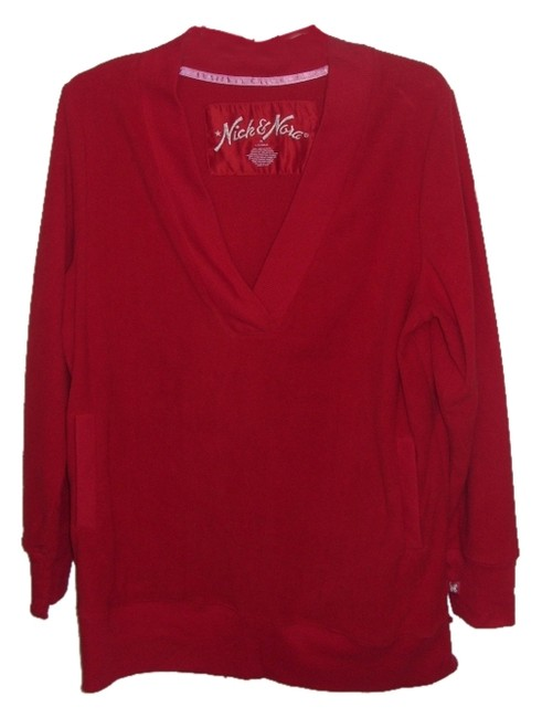 Preload https://item2.tradesy.com/images/nick-and-nora-red-xl-kitty-fleece-sleep-shirt-sweatshirthoodie-size-16-xl-plus-0x-5155201-0-0.jpg?width=400&height=650