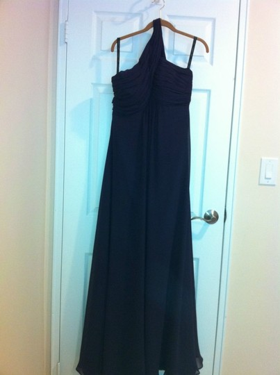 Bill Levkoff Purple Chiffon 675 Formal Bridesmaid/Mob Dress Size 12 (L)