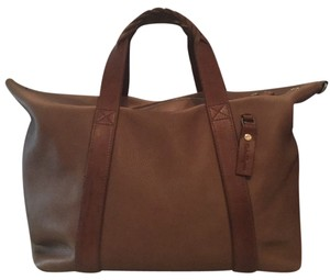 Salvatore Ferragamo Camel Travel Bag