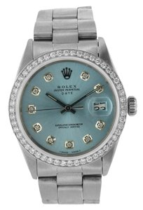 Rolex ROLEX DATE DIAMOND WATCH