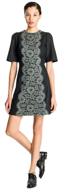 Preload https://item4.tradesy.com/images/dolce-and-gabbana-dark-grey-dolce-and-gabbana-lace-applique-size40-above-knee-short-casual-dress-siz-5156008-0-0.jpg?width=400&height=650