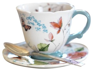 blessings unlimited Vintage Rose Tea Cup & Saucer