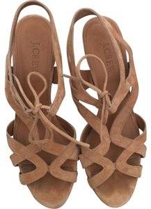 J.Crew Tan Wedges