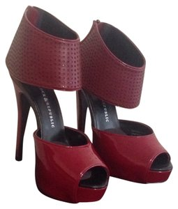 Rock & Republic Red Platforms
