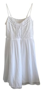Cotton On short dress white Lace Trim on Tradesy